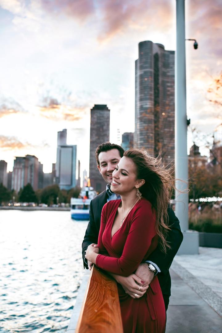 Cinthia & Phil Engaged inChicago